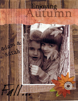 Enjoying Autumn (As seen in Scrapbooking & Cards Today)