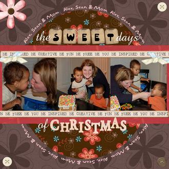 The Sweet Days of Christmas - Dec Digi Swap