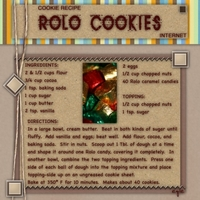 Recipe:  Rolo Cookies
