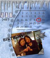 CD Calendar #1