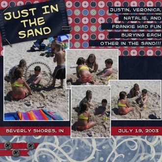 Just In The Sand
