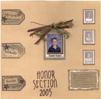 Honor Section 2005