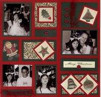 Christmas color block