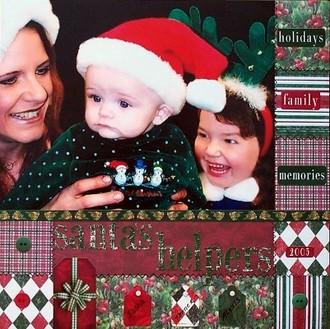 Santa's Helpers Scraplift of Angelina Wiggington