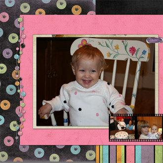 Annie's First Birthday