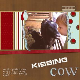Kissing Cow