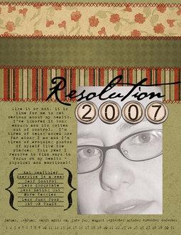 Resolution 2007