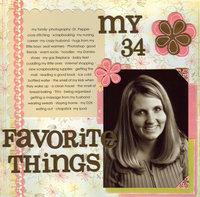 My Favorite Things *Jan CT Reveal*