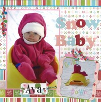 Snow Baby *Cantata Books Fast & Easy Scrapbook Pages*