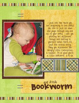 My Little Bookworm - ADSR Challenge LO
