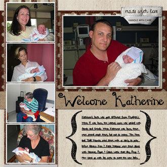 Welcome, Katherine