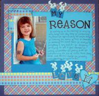 My Reason- Jan Manufacturer Challenge