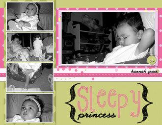 Sleepy Princess