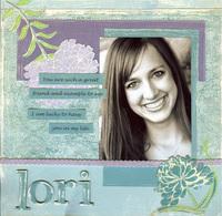 Lori- New Crate Paper