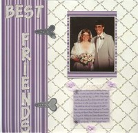Wedding Album First Page
