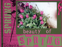 Beauty of Spring (As seen in Ready, Set, Create! February/March 2007)