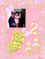 Solange 2nd Birthday layouts