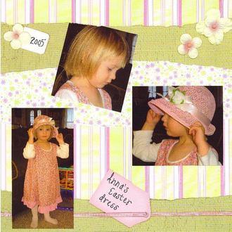 Anna's Easter Dress 2005