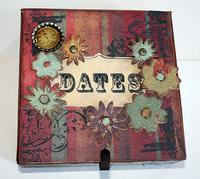 Cosmo Cricket Perpetual Calendar & Cigar Box