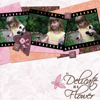 Zoey - Delicate as a Flower