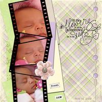 Baby Girl layouts