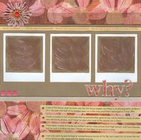 Why Do I Scrapbook?