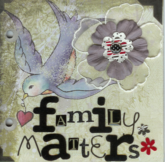 Family Matters - 52 Challenges #10
