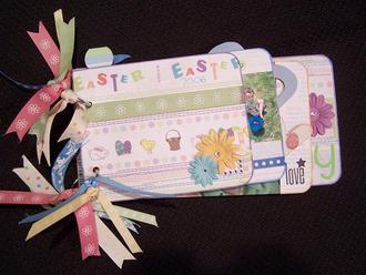 Easter Mini Album **Adornit Carolee's Creations**