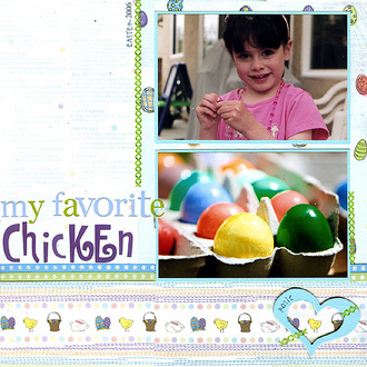 My Favorite Chicken (Adornit with Carolee's CT reveal)