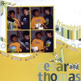 Cesar and Thomas (Polar Bear Press reveal)