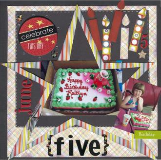 Celebrate Five **Polar Bear Press Reveal**