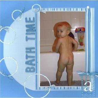 Bath Time  *Cantata Books Mother Goose*