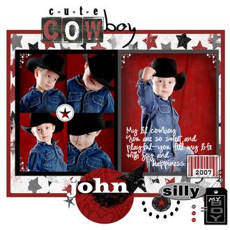 Cute Cowboy-scraplift