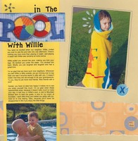 In the Pool with Willie