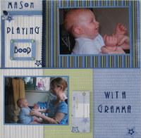 Mason and Gramma Playing Boop