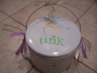 It's Tink ! ( Tinkerbell Altered Can)
