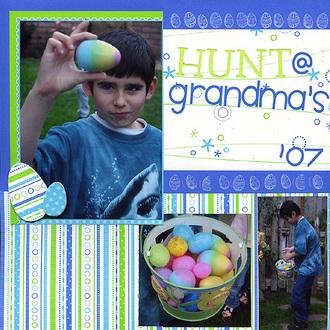 Hunt @ Grandma's (Doodlebug CT reveal)