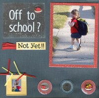 Off to school?