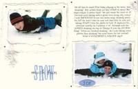Snow much fun -both sides!