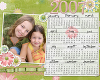 digital printable calendar