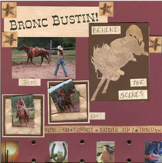 Bronc Bustin!