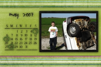 Calendar Project for Gift
