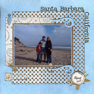 Santa Barbara, CA (Daisy Bucket CT reveal)
