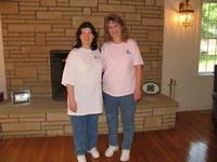 Gloria (glo85cam) and Kellie (WV Scrapper)