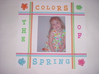Colors of Spring--March Challenge-Color Challenge#12