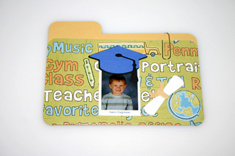 Kindergarten Grad Mini Folders