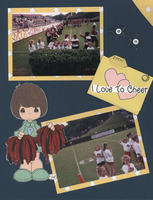 Color & Word #7: I Love to Cheer