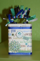Girl Scout Dues Tin