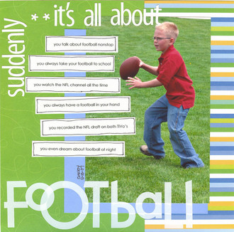 Suddenly, it's all about Football