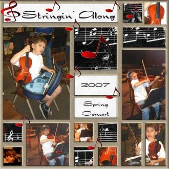 Stringin' Along